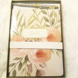 Laura Ashley Pen and Notebook Journal Set